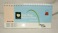 Cricut Cartridge BOOKLET ONLY - TAGS, BAGS, BOXES AND MORE