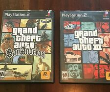 Set of 2 PS2 Games - Grand Theft Auto III + Grand Theft Auto San Andreas