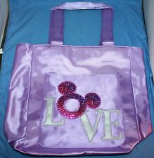Nice Disney Love Pink Tote Bag New With Tag
