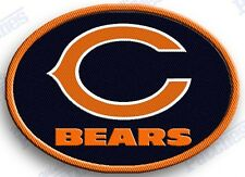CHICAGO BEARS    iron on 100% embroidered PATCH NFL FOOTBALL PATCHES