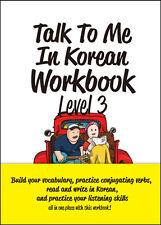 Talk To Me In Korean Workbook Level 3 톡투미인코리안 워크북 3 Free Ship 9788956056906