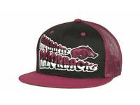 Arkansas Razorbacks TOW Quagmire NCAA Mesh Back Snapback Flat Bill Cap Hat OSFM