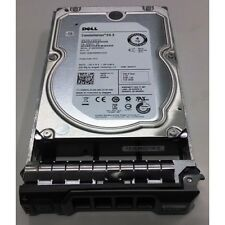 "Dell 4TB 3.5"" SAS 6GB/s 7.2K 128MB Server Hard Drive In Caddy Hot Swap HDD 529FG"