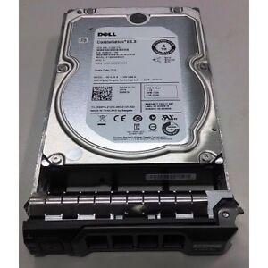"Dell 4TB 3.5"" SAS 6GB/s 7.2K 128MB Server Hard Drive In Caddy Hot Swap HDD 529FG"