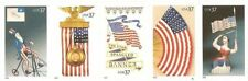 US Scott # 3776 - 3780a Old Glory Booklet Set of 5