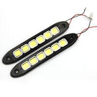 2Pcs 20W Combo Offroad Work COB 6 LED Light Bar Driving DRL Driving Truck Lamp