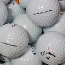 50 Golf Balls Callaway Chrome Soft AA Quality Lakeballs Chromesoft