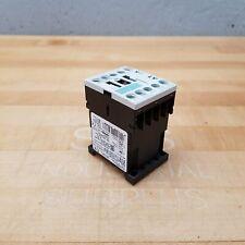 Siemens 3ZX1012-0RH11-1AA1 Contactor, 24VDC, 10 Amp, 600 VAC - USED