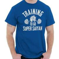 Training Super Funny Gym Workout Gift Goku Mens T-Shirts T Shirts Tees Tshirt