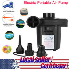 Electric Portable Air Pump DC Air Pump For Inflatables Raft Bed Boat Pool GL