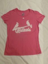 Women's St. Louis Cardinals David Freese Pink T-Shirt Size Med Great Condition