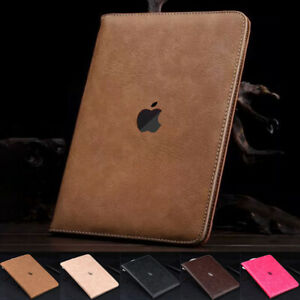 For iPad 8th 2020/7th/6th/5th/Air2/Mini 123 Flip Smart Leather Stand Case Cover