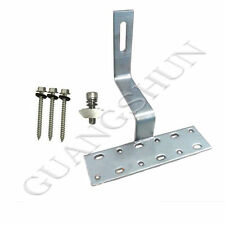 Solar Photovoltaic Adjusted SUS304 Roof Hook Stainless Steel Hooks With Screws