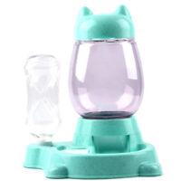 Haustier Automatisch Feeder Katze Hunde Futter Spender Wasser Trink SchüSse U1M1