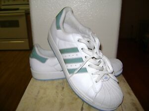 adidas Superstar Green Athletic Shoes