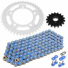 Caltric Black Drive Chain And Sprocket Kit for Honda Cbr1100Xx 1997-2003 530-Chain Type