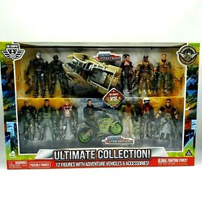 The Corps! Vs.The Curse! Ultimate Collection 12 Figures With Adventure Vehicles