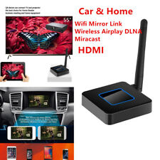 Car TV Wifi Mirror Link Wireless Airplay DLNA Miracast HDMI Dongle iOS Android