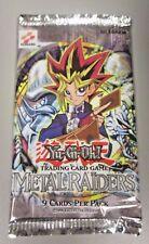 Yu-gi-oh Metal Raiders Booster Pack Sealed Rare English 1996 Konami 1st Edition