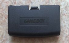 Cache Pile Noir - NEUF - pour Game Boy Advance - Gameboy GBA Battery Cover