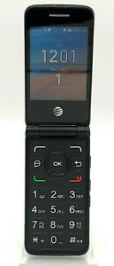 Alcatel SmartFlip - 4GB - Volcano Black (AT&T Network Unlocked) 4044O (GSM Only)