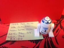 Lego Star Wars Minifigure - R2-D2 Light Grey & Blue Head Jabba's Message 4475