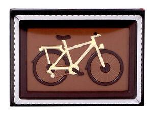 Schokopräsent Fahrrad - 75g Vollmilchschokolade