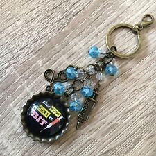 Nurse Keychain Medical Keyring Doctor Bag Charm Jewelry Hanger Accessory