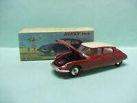 DS 19 CITROEN couleur bordeaux Ref 530 Dinky Toys Atlas 1/43