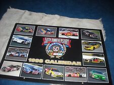 1998 50th Anniversary NASCAR Winston Cup Series Calendar new in the plastic