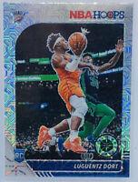 2019-20 NBA Hoops Premium Stock Luguentz Dort Silver Mojo Prizm OKC Thunder #213