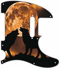 Telecaster Pickguard Custom Fender Tele 8 Hole Guitar Pick Guard Mojo Moon