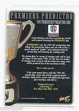 1997 Select Premiership Predictor (CC6) Fremantle ***