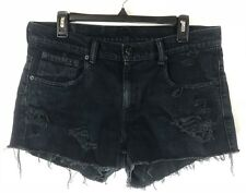 LEVIS 511 Size 33 High Rise / Waisted Cut Off Denim Vintage Jean Shorts Re Done