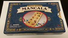 MANCALA by Cardinal Solid Wood Board with Gemstones & Metal Case 1999