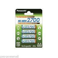 4 x Panasonic Eneloop Mignon AA HR6 Akku NiMH 1,2 V 2700mAh (min.2500) BK-3HGAE