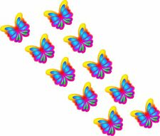 26 x Multicoloured Butterfly Car Van Stickers Decals