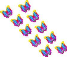 26 x Multicolor Mariposa Para Coche Furgoneta Adhesivos
