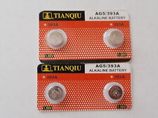 4- New-Alkaline Batteries-1.55V -AG5-393A- LR754-SR754-SR48- Fast Shipping