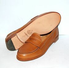 WOMAN COLLEGE SHOES - 36½ - CALF COL.TAN - VIT.CUOIO - LEATHER SOLE - NO LINING