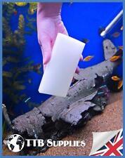 TTB Alghe Acquario Pulizia Pad/spugna x2 Reef Marine Serbatoio Di Pesce Tropicale Vetro