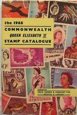 1968 Commonwealth Queen Elizabeth Ii Stamp Catalogue Urch Harris & Co