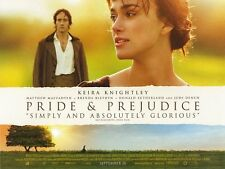 Pride & Prejudice movie poster - Keira Knightley poster - 12 x 16 inches