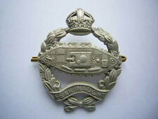 WWII - ROYAL TANK REGIMENT Cap Badge