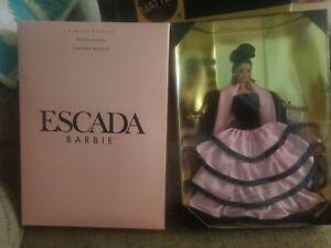 Mattel Escada Barbie Doll 15948 MINT -NRFB