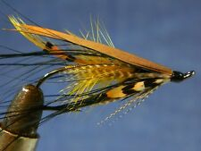 AKROYD with black Heron Dee fly - Classic fly for Atlantic salmon fishing