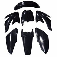 Black Plastics Fairing Fender for Honda CRF70 06-12 Pit Dirt Bike Pitpro Atomik