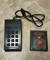 Star Raiders (Atari 2600, 1982) with Video Touch Pad Controller - Free Shipping!