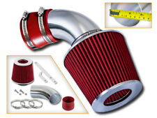 """3.5/"""" Cold Air Intake Dry Filter Universal RED For 2 Series 220//228//235"""