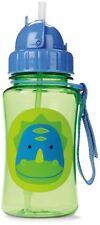 Skip Hop Zoo Straw Bottle Holds 12 Oz Dakota Dinosaur Sippy Cups Mugs Dishes